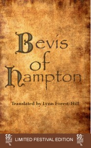 The Bevis book's front cover, complete with its idenification as a special edition for the first Southampton Literary Festival